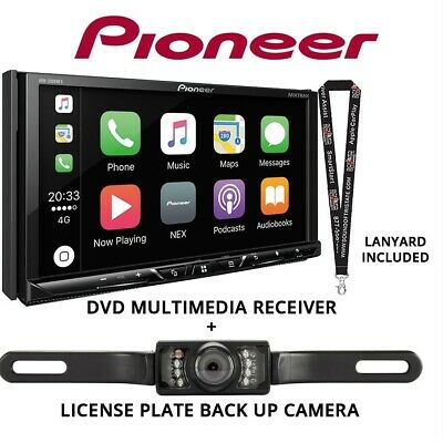 "Pioneer AVH-2300NEX 7"" DVD Receiver Apple CarPlay Bluetooth & Backup Camera R/B"