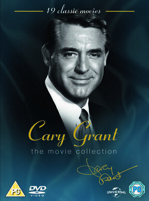 Cary Grant DVD Movie Collection 19 Films 17 disc box set  Bringing Up Baby &more