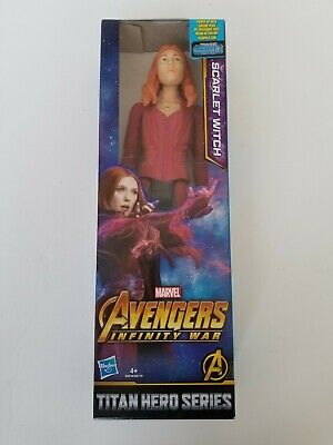 "MARVEL Avengers Scarlet Witch Infinity War 12"" Action Figure - Titan Hero Series"