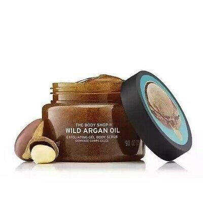 The Bodyshop Wild Argan Oil Body Scrub 250ml NEW