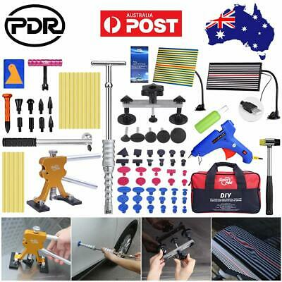 96pcs PDR Paintless Hail Repair Tools LED Line Board Dent Puller Lifter Removal