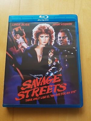 Savage Streets - RARE OOP LIMITED EDITION CODE RED - Linda Blair Blu Ray