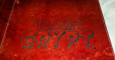 """1995 """"TALES FROM THE CRYPT"""" Rare TELEVISION/RADIO MEDIA PRESS KIT In LARGE BOOK"""