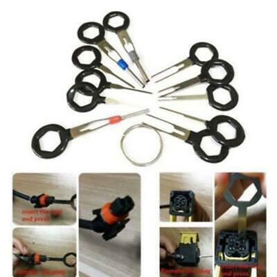 18Pcs Car Terminal Removal Tool Wire Plug Connector Puller Release Pin Extractor