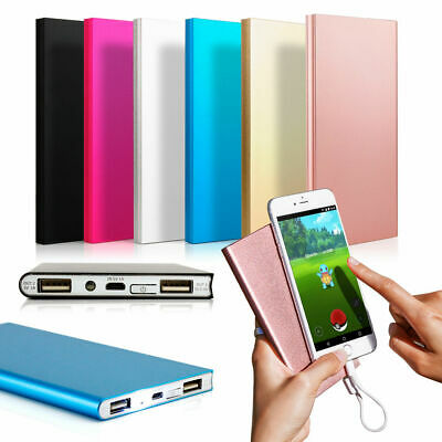 20000mAh Dual USB Portable External Battery Charger Power Bank for Cell Phone