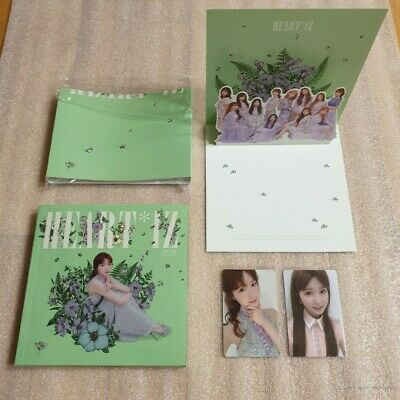 IZ*ONE HEART*IZ 2nd Mini Album Violeta ver. HITOMI Full Set IZONE HEARTIZ