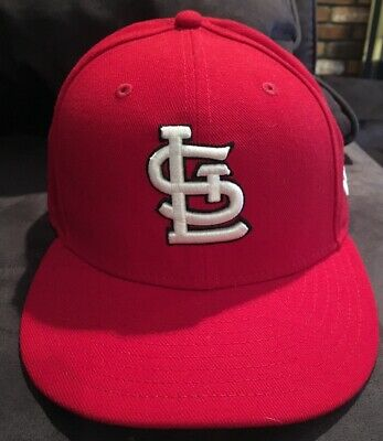 online retailer be896 05860 St Louis Cardinals MLB New Era 59FIFTY Fitted Cap Hat Sz 7 1 8 56.8