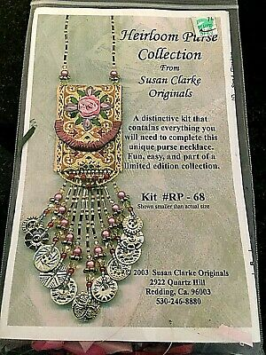 Susan Clarke Originals Heirloom Purse Collection Complete Beading Kit RP-68