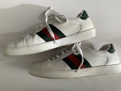 40a8589838d NEW MENS GUCCI Ace Shoes Sneakers Size 9 -  495.99