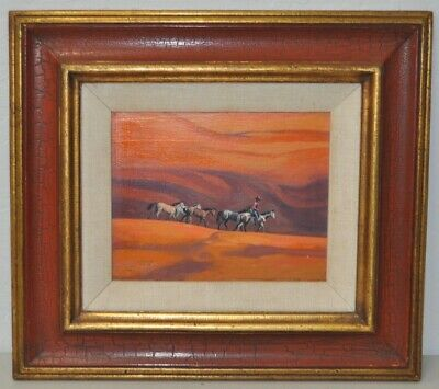 "Ted Littlefield ""Navajo Drive"" Original Acrylic Painting"