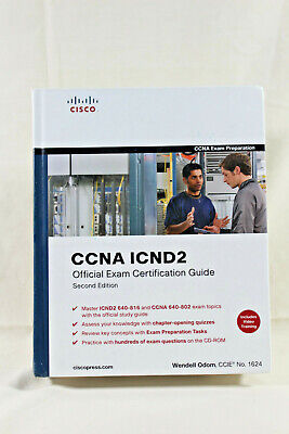 CCNA ICND2: Official Exam Certification Guide /Second Edition/ Wendel Odom  #082