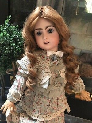 """ANTIQUE French JUMEAU TETE BEBE #10~~23""""~Marked Head & Body~Gorgeous!"""