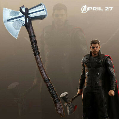 Marvel Avengers Infinity War Thor Stormbreaker Axe 1:1 Scale Cosplay Weapon Prop