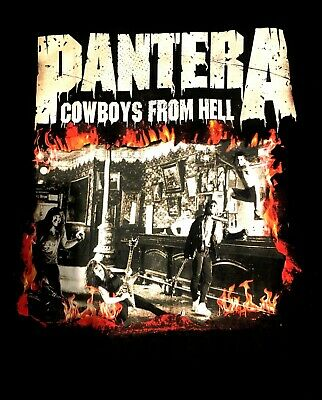 PANTERA - COWBOYS FROM HELL CD COVER Official SHIRT 2XL New superjoint, down