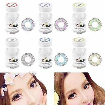 Une paire Colored Contact Lens Lentille de couleur Coloured Contacts Lenses HQ