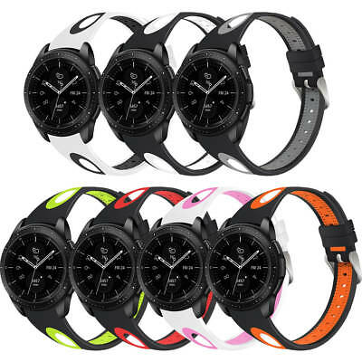 Bracelet Silicone Bande Pour Samsung Gear S3 Frontier/Classic Galaxy Watch 46mm