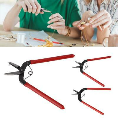 Mini Long Plier Hand Tools Jewelry Crafts Making Hole Pincers Round Mouth Pliers