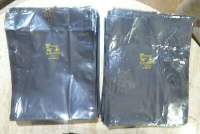"9 Lbs Silver ESD Bags 14""x11"" Bags Anti-Static Shielding Bags HundedsofUsedBags"