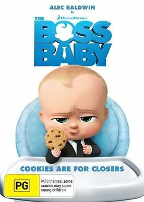 The Boss Baby DVD 2017 PG / Buy 1 DVD get 2nd DVD at half price!