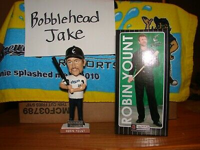 Nib 2012 Robin Yount Lakeshore Chinooks Bobblehead Sga Milwaukee Brewers