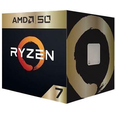 AMD RYZEN 7 2700X Gold Edition 50th Anniversary Desktop CPU Processor AM4 4.3Ghz