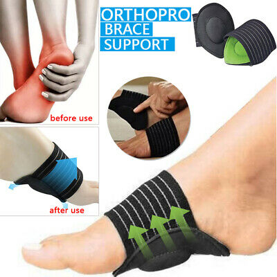 OrthoPro Brace Support Cushioned Foot pad Sole protector Run-up Tool 1Pair