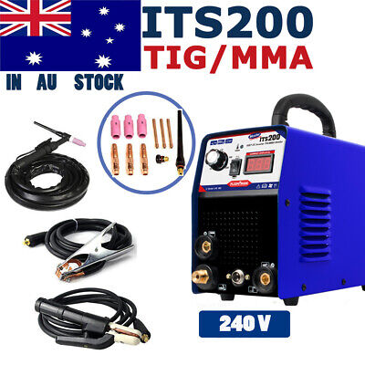 IGBT Welders Inverter 200A Stick/ARC/TIG 2IN1 Welding Machine  &TIG Consumable
