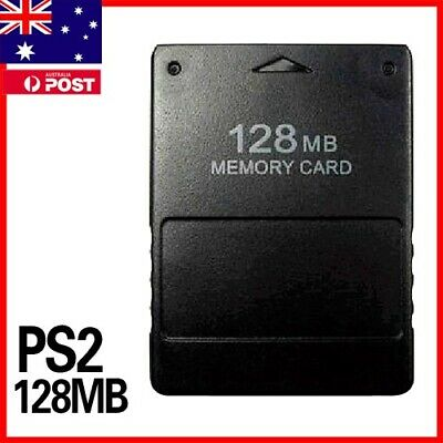 NEW HIGH SPEED 128MB MEMORY CARD FOR SONY PLAYSTATION2 PS2 AU Stock