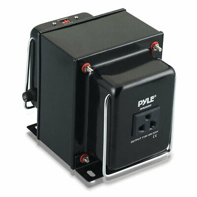 NEW Pyle PVTC2020 Step Up & Down 2000W Voltage Converter Transformer AC 110/220V