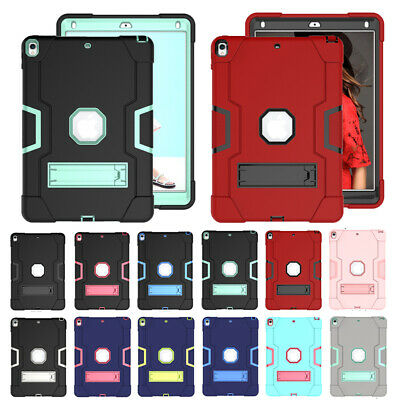 """Shockproof Heavy Duty Rubber Hard Stand Case Cover For iPad 9.7"""" Air Mini 5 2019"""