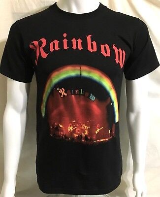 Rainbow On Stage Official Camiseta (S) Original Original Dio Blackmore 40f