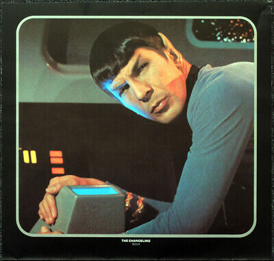 Star Trek Poster Page . The Changeling . Mr Spock