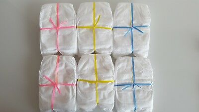 Set of 4 Nappies to fit Baby Born/Baby Annabell/Chou Chou 16-18 inch dolls