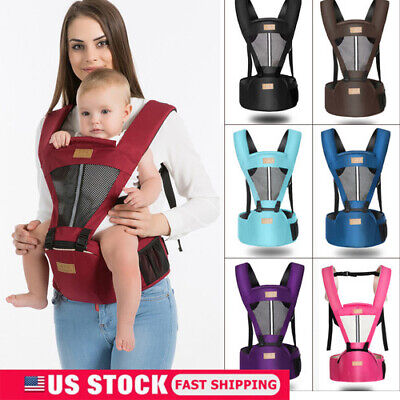 Newborn Baby Infant Carrier Breathable Ergonomic Adjustable Wrap Sling Backpack
