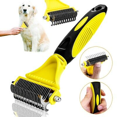 Dog Grooming Brush Blade Rake Comb for Dogs and Cats Professional Tool