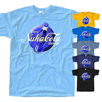 Fallout Nuka Cola, T-Shirt (YELLOW,BLACK,BLUE,) All sizes S-5XL.