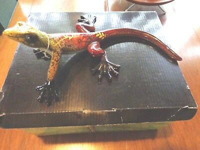 Green Tree Collectables Large Multicolored Lizard/Gecko