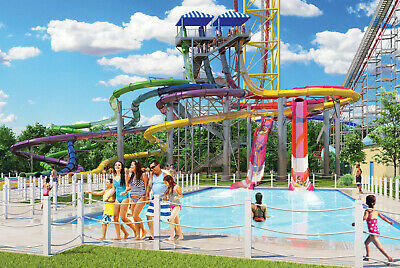 (4) Four Tickets to Cedar Point Shores Water Park / Fast Shipping / Low Price