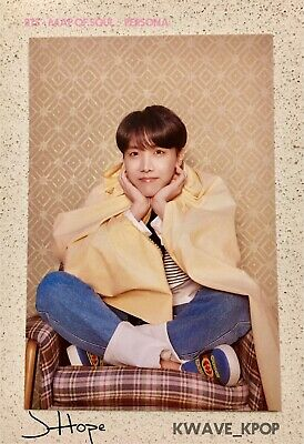 Bts 방탄소년단 Map Of Soul : Persona -Official Authentic Photo Card -Member Jhope
