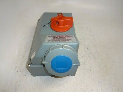 Mennekes Me 430Mif9 Mechanical Interlock Receptacle