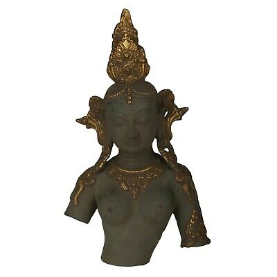 Goddess Parvati Bust Antique Finish Unique Lord Shiva Ganesh Mother Durga Statue