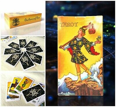 Regular Size Game Card High Quality Rider Waite Cards + Colorful Box 102mm*58mm