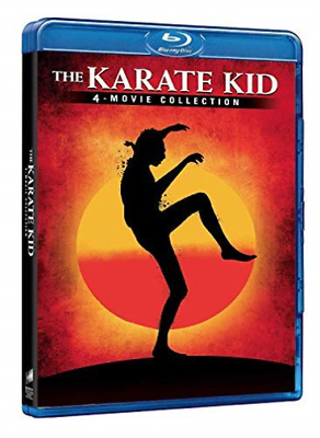 Karate Kid Collection (4 Blu-Ray) - (Italian Import) (UK IMPORT) BLU-RAY NEW