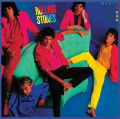 The Rolling Stones-Dirty Work (UK IMPORT) CD NEW