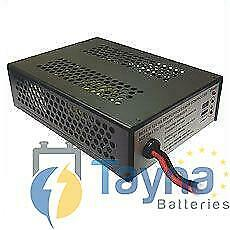 MK 24V 5Amp Batterie Charger with 3-pin plug.