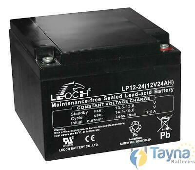 Leoch LP12-24 12V 24Ah Sealed Batterie