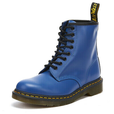 coupon code run shoes buying cheap DR. MARTENS 1460 Smooth Blue Boots Lace Up Unisex Leather ...