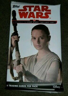 Star Wars Journey The Last Jedi 2017 Topps1 Pack possible Auto/Printing Plate?