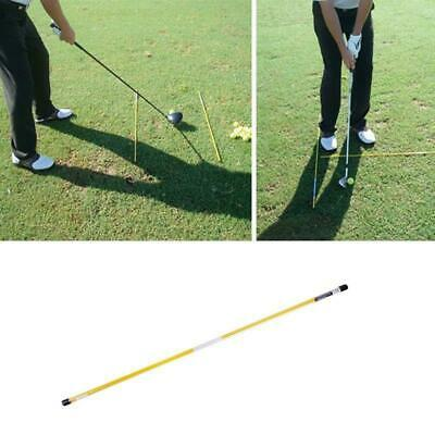 Golf Alignment Sticks Swing Plane Tour Training Aid Practice Rods Trainer 2 Pcs