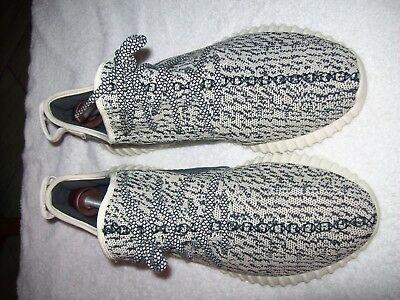 90946d974 Adidas Yeezy Boost Turtle Dove OG Size 12 1 2 Grey White AQ4832 2015